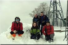 Atxabal mendiaren gailurra 888 m. - 2017ko abenduaren 3an
