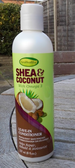 shea and coconut leave in conditioner