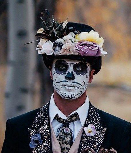 maquiagem masculina halloween 2017