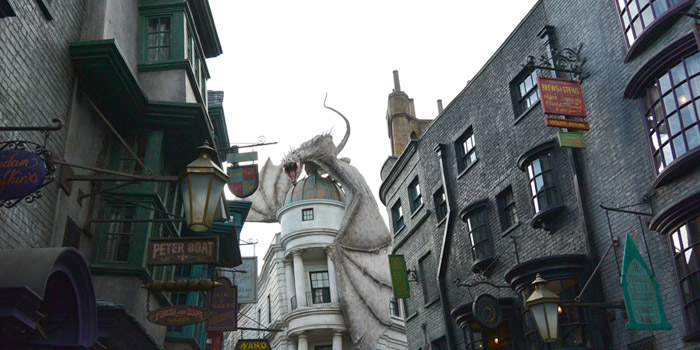 Diagon Alley.