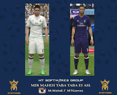 Real Madrid 2016-17 Kit by MT Games 1991