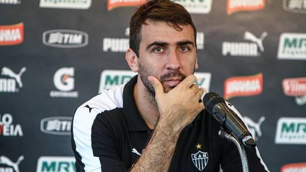 Lucas Pratto se despediu do Atlético-MG nesta quinta-feira (Foto: Bruno Cantini/Divulgação))