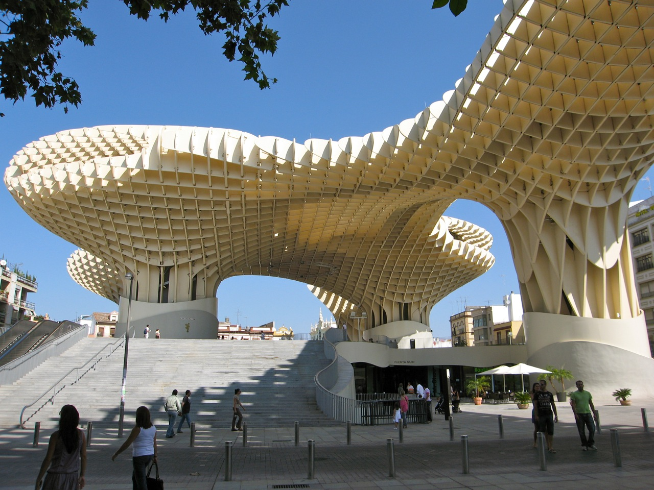 Best Bathroom Mirror Experimenting In Public: Metropol Parasol, Seville, By