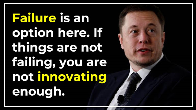 Elon Musk Inspirational And Motivational Quotes