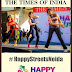Give yourself a Dancing move this Sunday at #HappyStreetsNoida on 24th April 2016