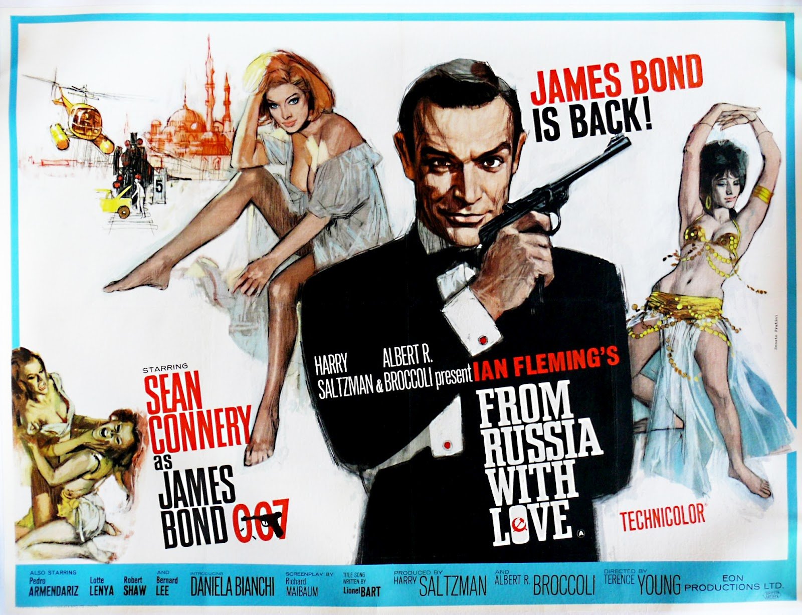 Aliza Gur platinum fallacies — bond girls: from russia with love (1963)