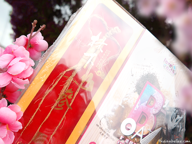 Mountain Ginseng from Healthy Chinese New Year Hampers from Koyara