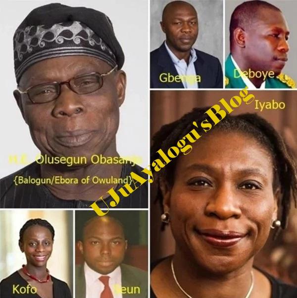 Olusegun Obasanjo's children