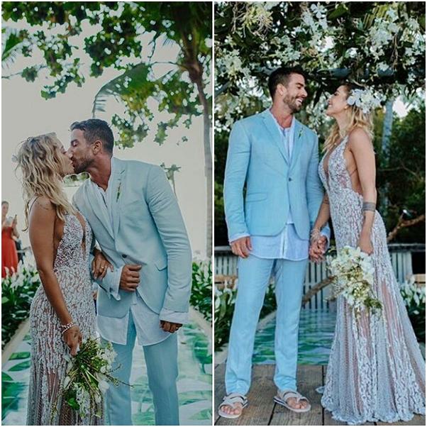 Casamento na praia Gabriela Pugliesi e Erasmo