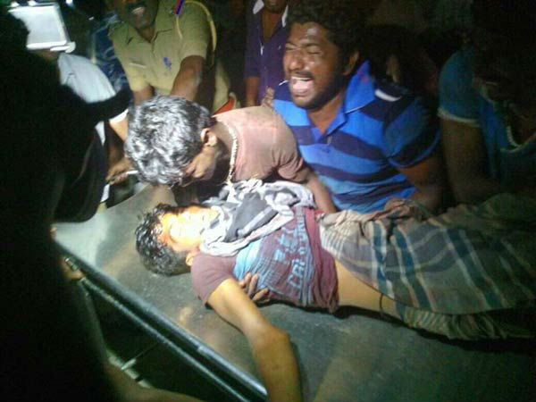 The Tamil fisherman Bridjo who killed by SL navy