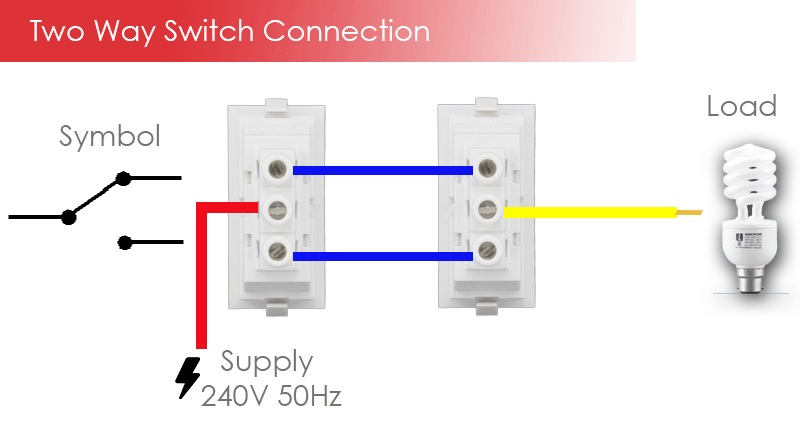 2-way switch connection