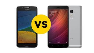 Moto G5 Plus VS Redmi Note 4 |  Shoutxp