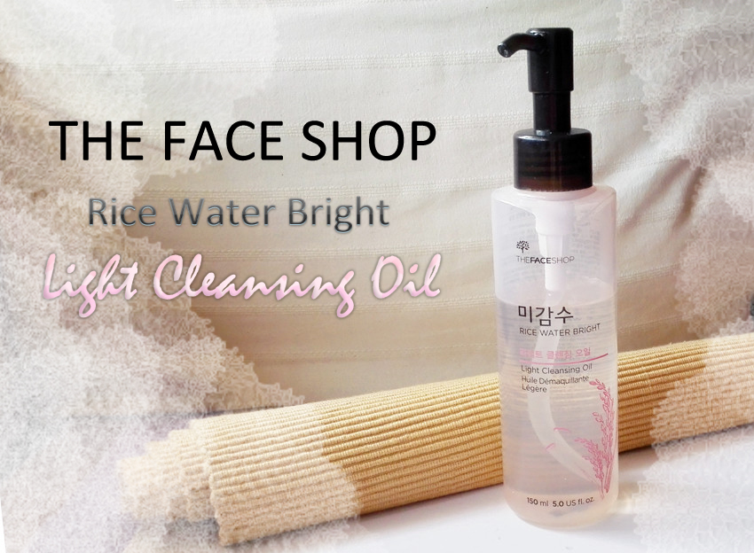 Kaowaii Stage ~ Beauty Blog: The Face Shop - Rice Water