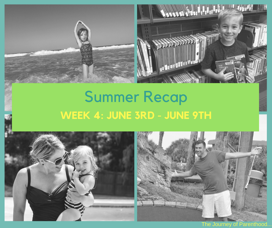 Summer Recap: Week 4