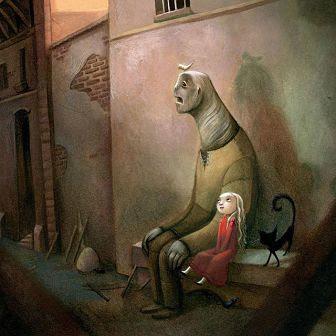 La sombra del Golem - Edelvives - Benjamin Lacombre - reseña -Marieta Pancheva