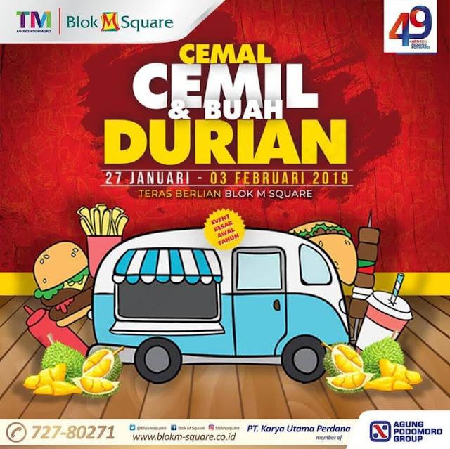 Event Cemal Cemil dan Buah Durian 2019 Akan Segera Hadir, Yuk Warga Jabodetabek Merapat