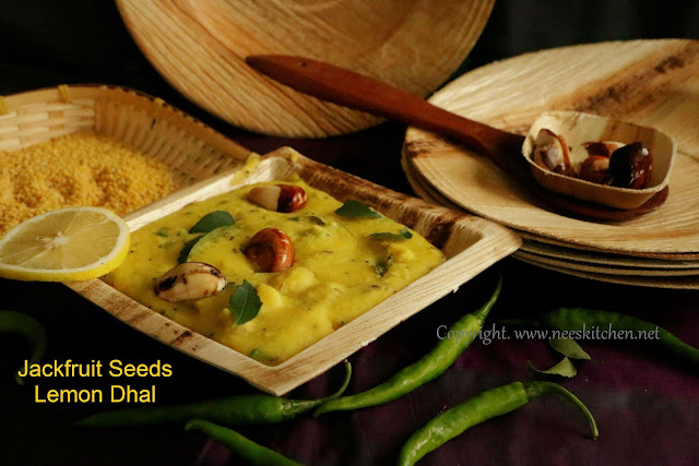 Jackfruit Seed Lemon Dhal