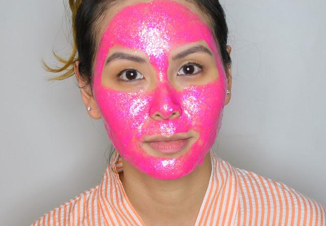 GLAMGLOW My Little Pony (Pink) #Glittermask Gravitymud Firming Treatment
