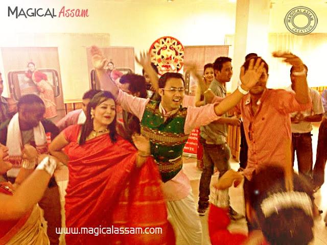 bihu dance shyamantika