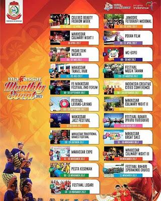 Jadwal Event Wisata Makassar 2017