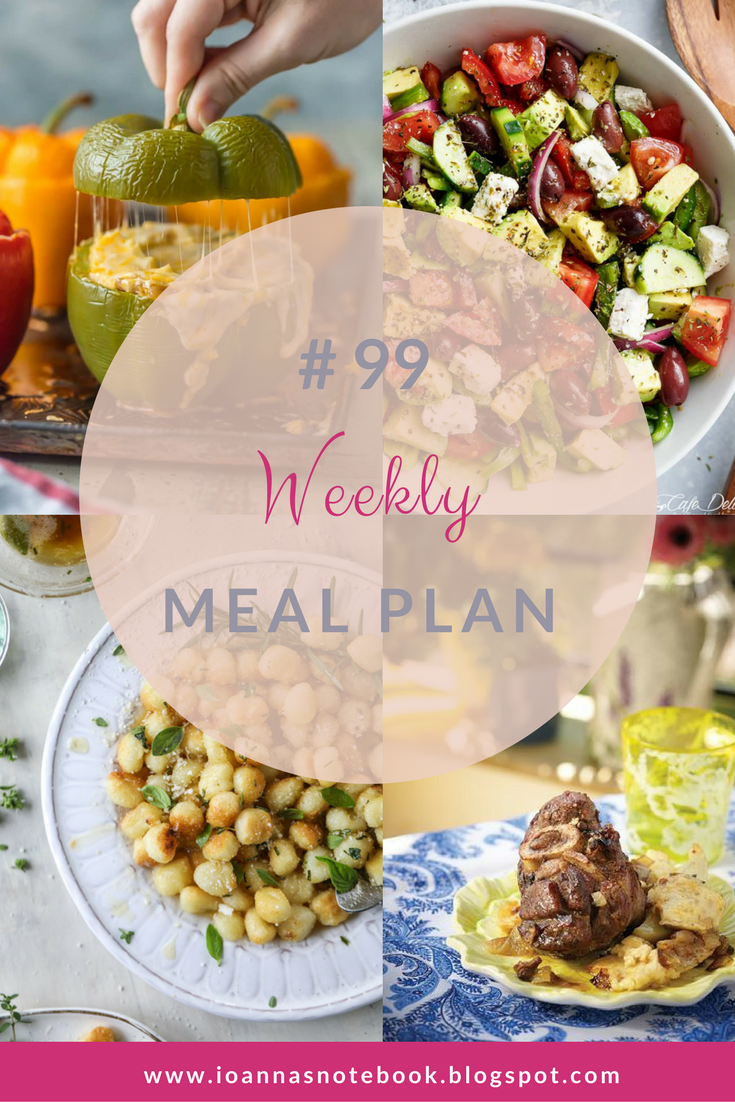 Weekly Meal Plan 99 - Ioanna's Notebook