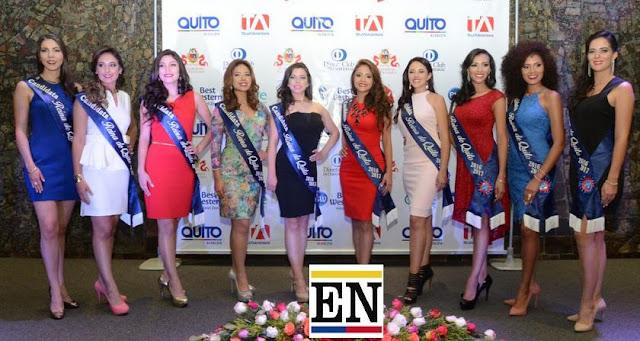 candidatas reina quito 2016