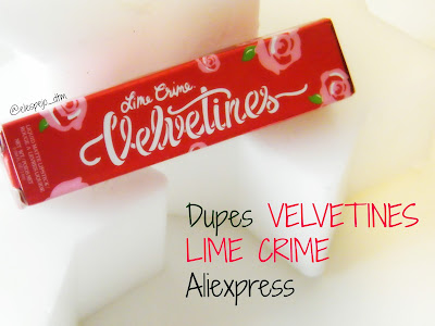 VELVETINES DUPES ALIEXPRESS