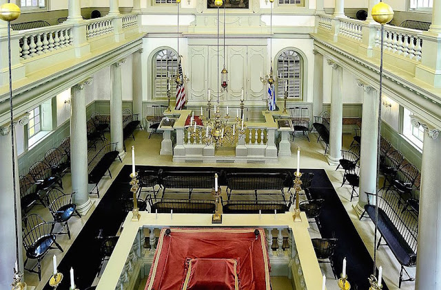 Touro Synagogue in Newport