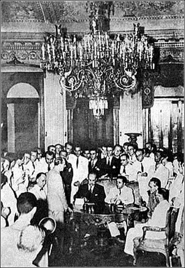 Firma del Protocolo de Río de Janeiro (1942)