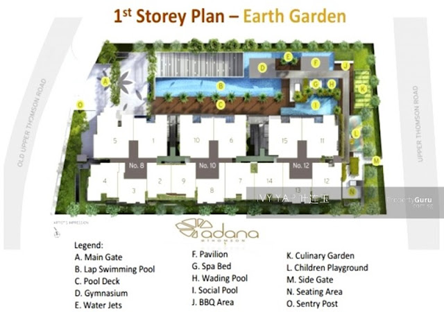 Cairnhill 9 1st storey Plan