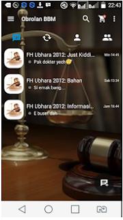 Mod BBM Transparent Plus V2.11.0.18 Apk