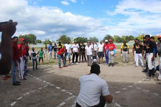 Dejan iniciado primer torneo de softbol masculino en Cabral