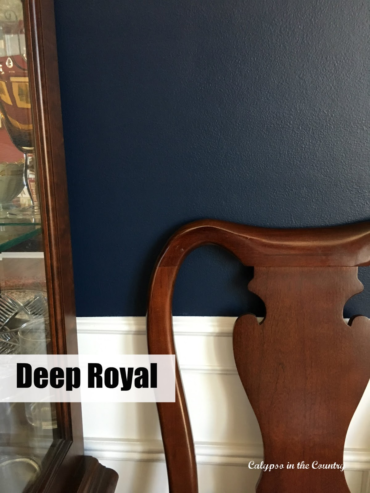 Deep Royal Benjamin Moore