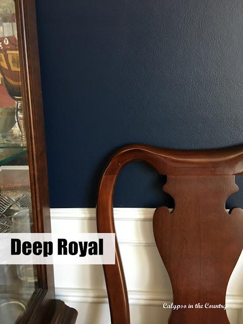 Deep Royal Benjamin Moore