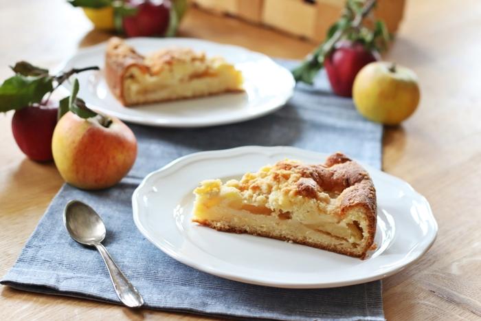 Knuspriger Apfel Streusel Kuchen Fashion Kitchen