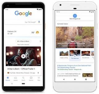 Keren! Halaman Depan Google Yang Kian Mirip dengan Media Sosial