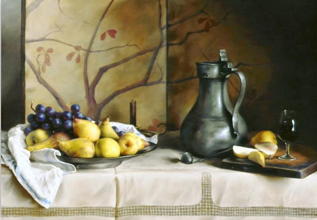 Cuadros modernos pinturas y dibujos cuadros de bodegones for Cuadros para cocina originales