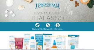 Logo Diventa tester Thalasso I Provenzali