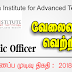 Vacancy In Java Institute for Advanced Technology   Post Of - Academic Officer