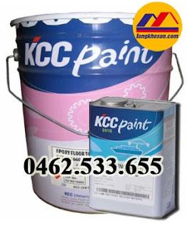Sơn epoxy chống thấm không lộ thiên KCC gốc Pu