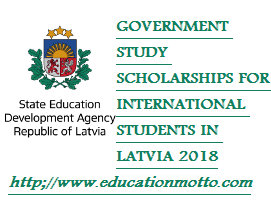 Latvian  Government  Study Scholarship, Description of Scholarship, Application Deadline, Eligibility Criteria, APPLICATION FORM, Method of Application,