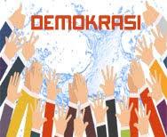 """Istilah """"demokrasi"""" petama kali berasal dari Yunani Kuno yang diutarakan di Athena kuno pada abad ke-5 SM. Kata """"demokrasi"""" berasal dari dua kata, yaitu demos yang artinya rakyat, dan kratos/cratein yang artinya pemerinatahan, sehingga dapat diartikan sebagai pemerintahan rakyat, atau lebih kita kenal sebagai pemerintahan dari rakyat, oleh rakyat dan untuk rakyat."""