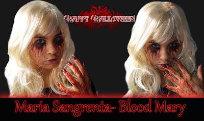 Maria sangrenta Maquiagem