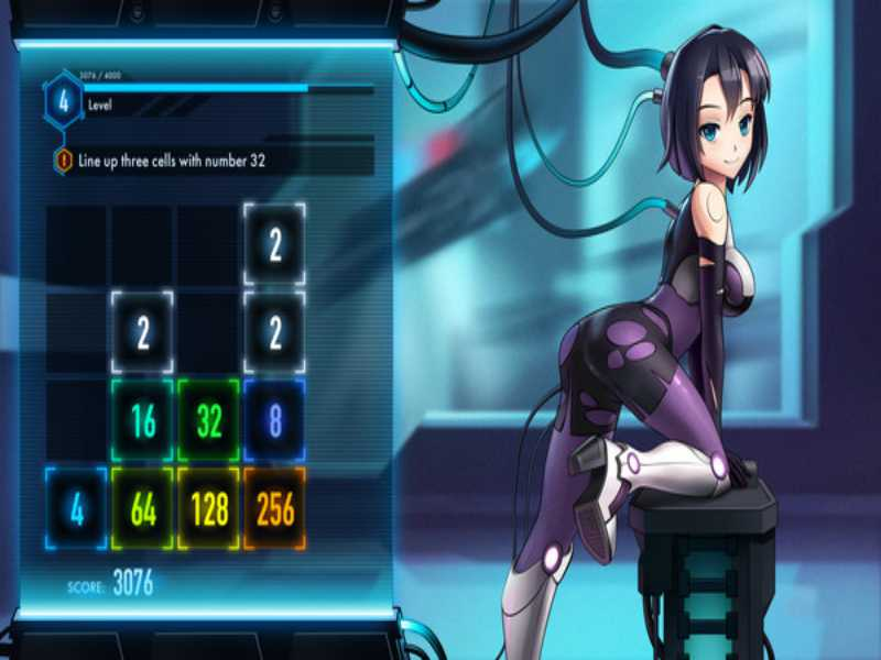 Download Iron Ladies 2048 Free Full Game For PC