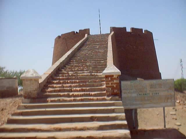 The Fort Of Umerkot Somewhere In Desert