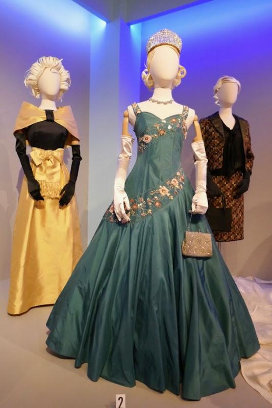 Claire Foy Crown Queen Elizabeth II gown