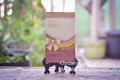 Cetak Undangan Pernikahan di Tangerang