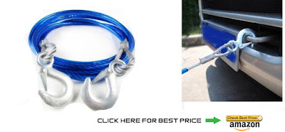 Towing Tow Rope And Cable (Emergency Kit)