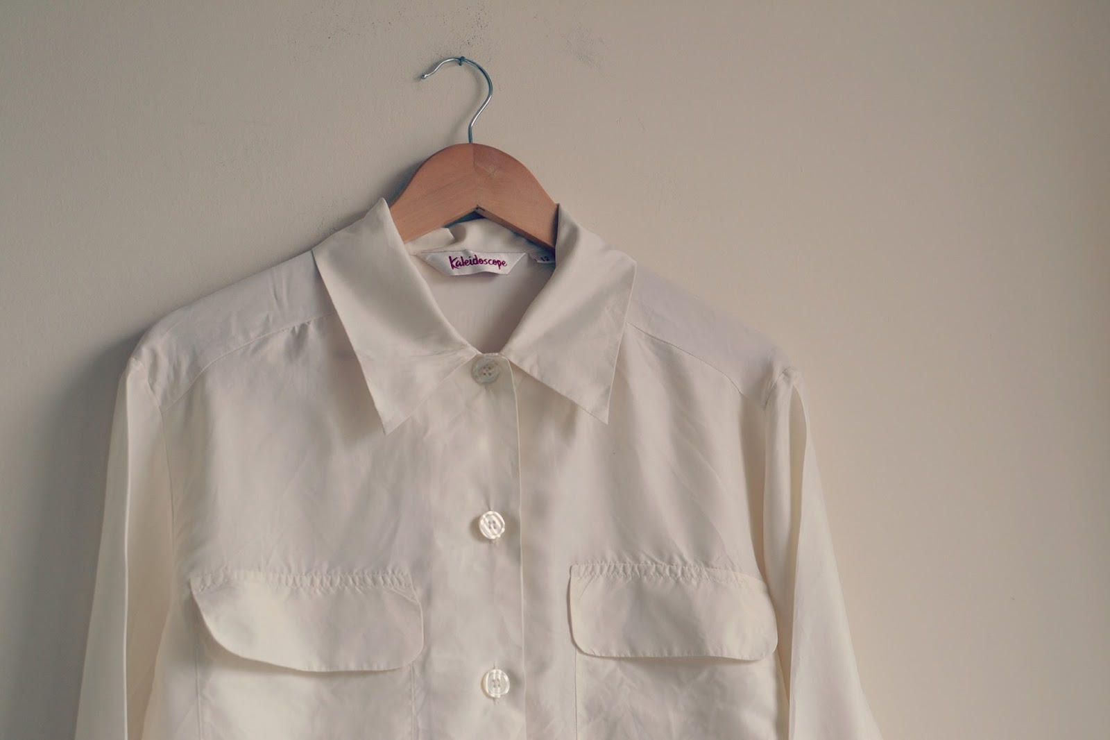 Vintage Silk Shirt Bristol Textile Recyclers