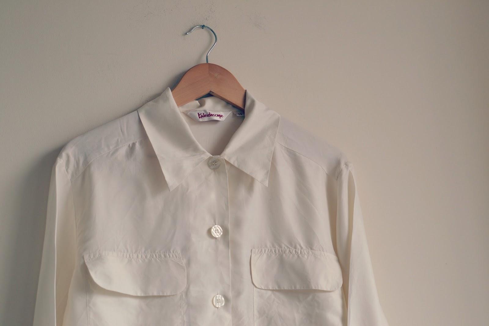 Vintage Silk Shirt Bristol Textile Recyclers